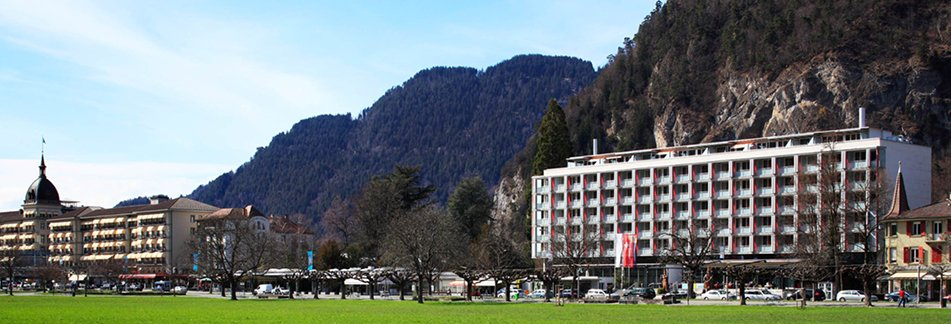 Day 1 : Interlaken Train Station - HOTEL (Interlaken)